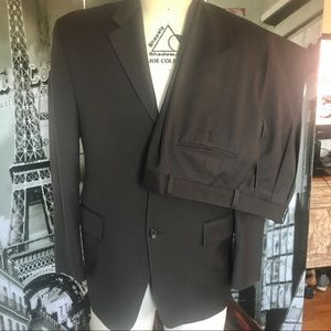 Ralph Lauren 3-Button Single Breasted Suit, Brown